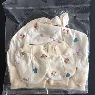Tollyjoy Unisex Baby Combo Set