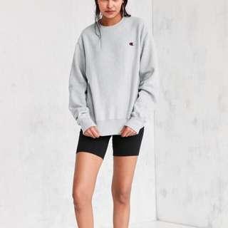 champion grey sweatershirt