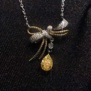 18K黃鑽石鏈