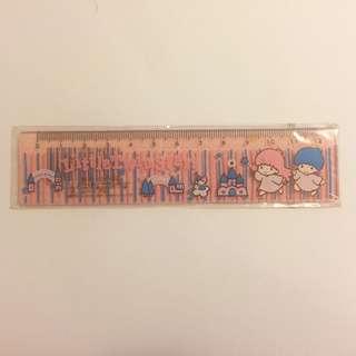 Sanrio vintage 絕版 Little Twin Stars 間尺 1999