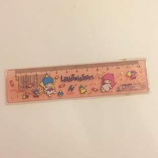 Sanrio vintage 絶版 Little Twin Stars 間尺 1989