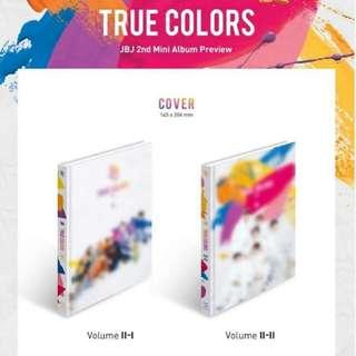 [NON-PROFIT G.O] JBJ True Colors 2ND Mini Album