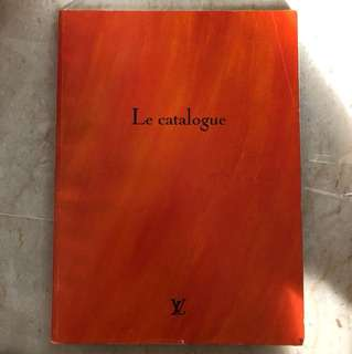 Vintage LV catalogue