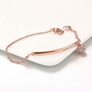 Happiness Half Bangle Bracelet