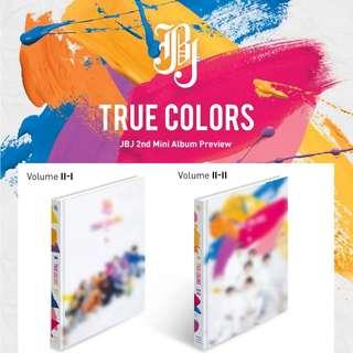 [PREORDER] JBJ - True Colors 2nd Mini album