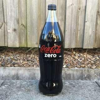 Coca-Cola 澳洲版可口可樂 1L 玻璃樽裝