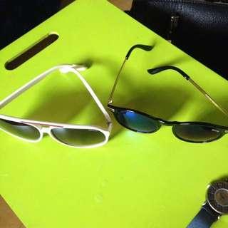 Sunglasses take it all