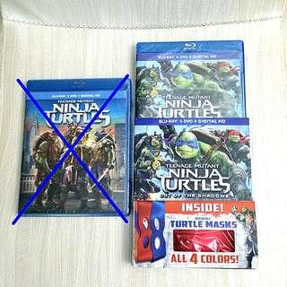 Teenage Mutant Ninja Turtles Out Of The Shadows Blu-ray + DVD + Digital HD