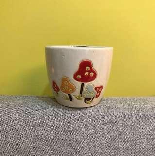 🚚 蘑菇花盆