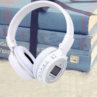 N65BT LCD Screen Display 3.5mm Digital Stereo Earphone Headphone Headset Microphone Mic MP3 Music Player SD Card USB Slot