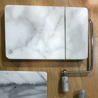 Marble cheese slicer cutter