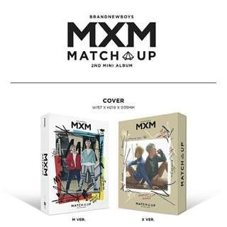 MXM-Match Up [2nd Mini Album]