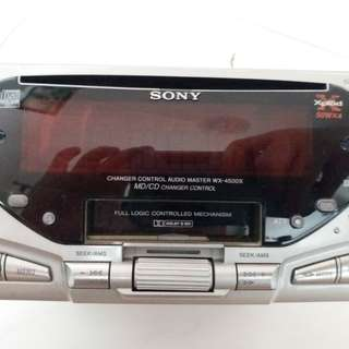 Sony Xplod player