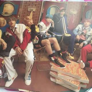 BTS LOVE YOURSELF OFFICIAL POSTER: E Version