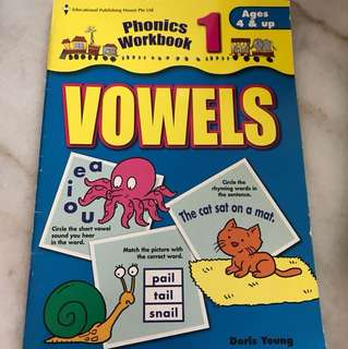 phonic workbook