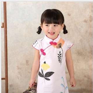 Girls CNY Dress/Cheong Sum/ Qi Pao/Chinese Traditional Outfit (Ready stock) Free postage for limited time!