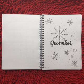 Bullet Journal Notebook Collection - content