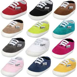 New Design Baby Prewalker Canvas Shoes - PREORDER