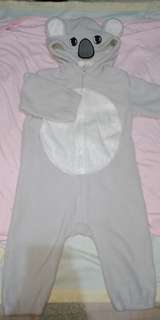 New with tag baby koala costume
