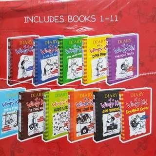 BN Diary of Wimpy Kid 11-COPY BOX SET
