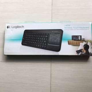 Logitech Wireless Touch Keyboard K400r
