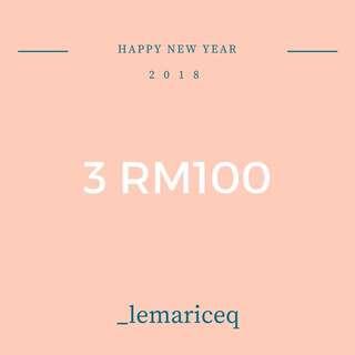 OFFER BELOW RM50