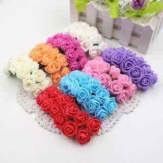 Assorted Foam Roses