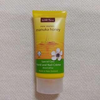 紐西蘭麥蘆卡蜂蜜護甲護手霜 Wild Ferns Manuka Honey Nail and Hand Cream