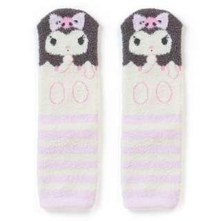 日本代購 sanrio 專門店 新年特價 kuromi 可羅米  襪子