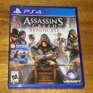 Kaset BD PS4 ORIGINAL Game Assasins Creed Syndicate
