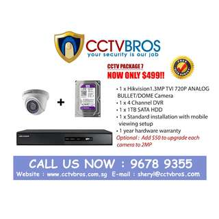 CHEAPEST CCTV INSTALLATION