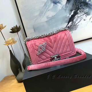 Chanel Leboy 粉色