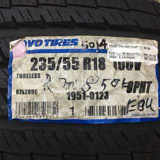 235-55-18 TOYO OPHT 2014 last 1pcs offer japan tyre