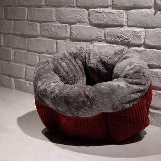 """""""Red Muffin"""" Super Soft Cat Cradle Bed"""