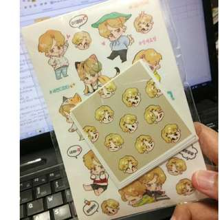 [READYSTOCK] JIMIN STICKER
