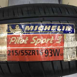 215-55-16 Michelin PS3 2015 offer