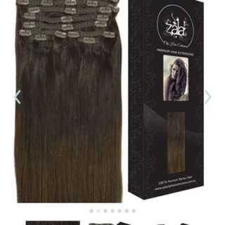 "20"" balayage hair extensions"