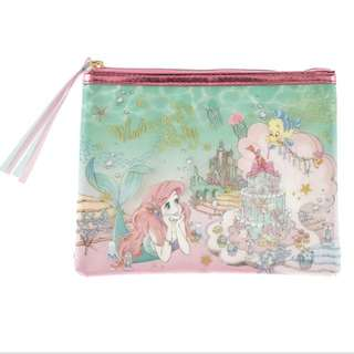 🇯🇵日本直送 迪士尼 美人魚 小魚仙 Aerial 化妝袋