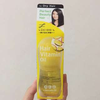 Lucido-L Hair Vitamin Oil for Dry Hair