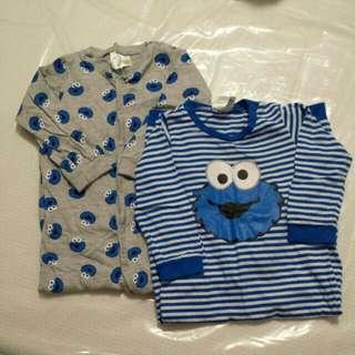 [All for $15] Baby Pyjamas/jumpsuit/sleep wear