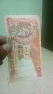 Uang lama 10rm
