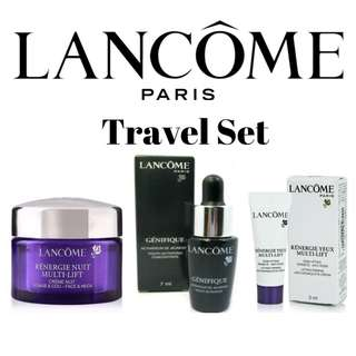 Lancome Renergie Nuit Multi-Lift Face & Neck 15ml + Advanced Genifique Youth Activating Concentrate 7ml + Renergie Yeux Multi-Lift Anti-Wrinkle Eye Cream 3ml