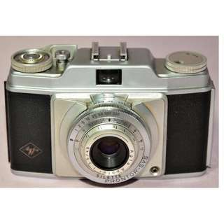 VINTAGE ANTIQUE AGFA SILETTE GERMANY 35MM CAMERA CIRCA 1950/60s