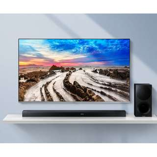 Samsung HW-M550 3Ch Flat Soundbar Sound.1 Year Warranty by Samsung.PSB Safety mark approved.