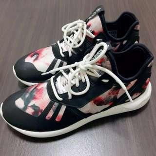 Adidas 小y3 花卉 23cm tubular runner