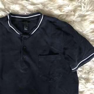 H&M Mandarin Collar Shirt