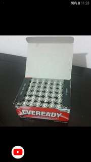AA Size Eveready Battery