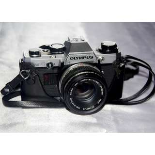 OLYMPUS JAPAN OM10 SLR CAMERA, INTRODUCED 1979 - NOT WORKING
