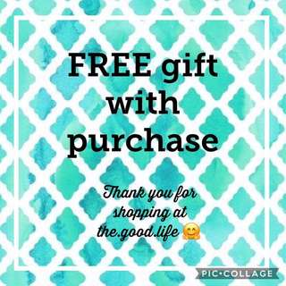 Free Gift for Purchases :)