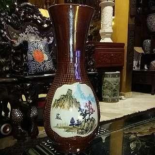 Chinese Antique Old Vase Porcelain Handpainted